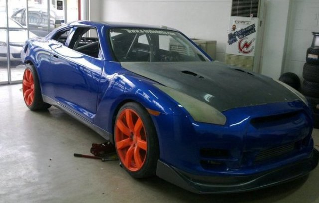 CustomPinoyRides Atoy R33 to R35 conversion pic1