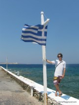 Greek Flag Posing - Mykonos-1.JPG