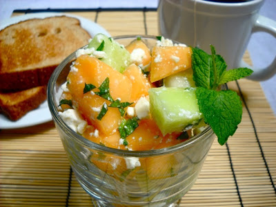 Melon, Mint & Feta Salad