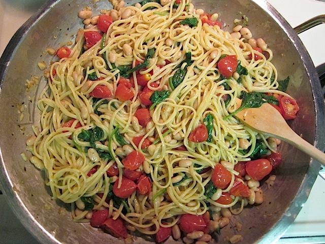 stir in pasta
