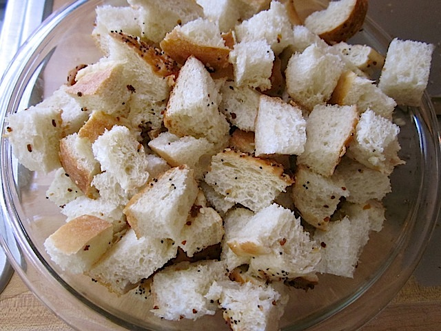 bread cubes