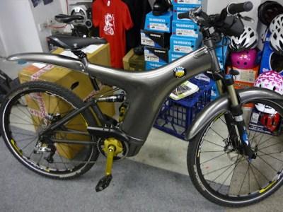 An Optibike , Ferrari of electric bikes, soon to be Rohloffed