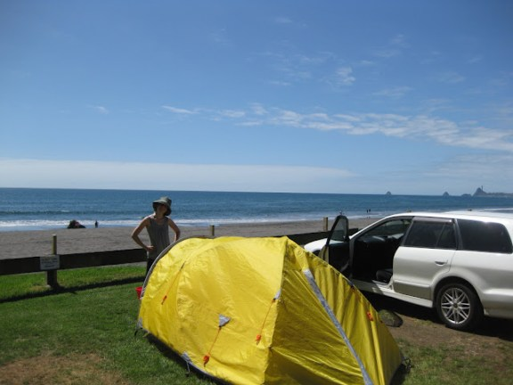Oakura Beach Holiday Park, North Island, New Zealand