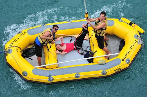 Kawarau bungy boat