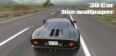 برنامج خلفيات سيارات متحركة ورائعه 3D Car Live Wallpaper v1.3 (مدفوع)