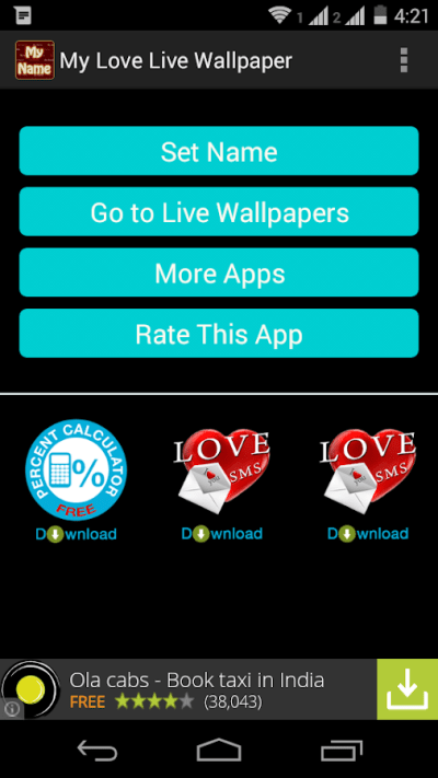Love Names Live Wallpaper - Android Apps on Google Play