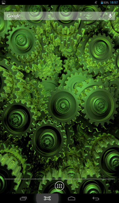 Golden Gears Live Wallpaper - Android Apps on Google Play