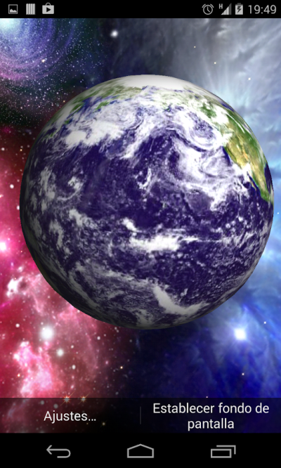 3D Earth Live Wallpaper - Android Apps on Google Play