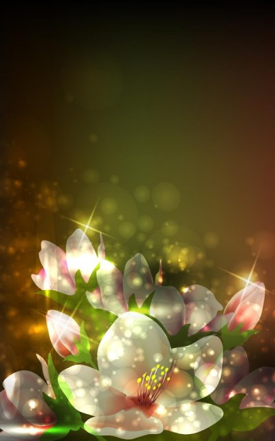 Glowing Flowers Live Wallpaper - Android Apps on Google Play