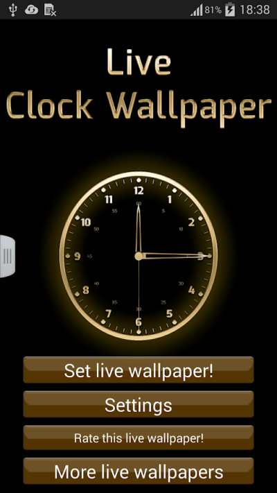 Live Clock Wallpaper - Android Apps on Google Play