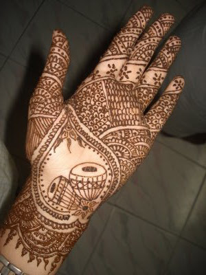 bridal mehandi desings