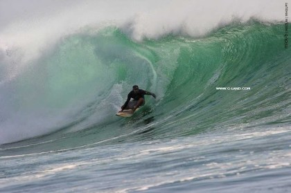 G-Land Surf Report on October 21, 2015