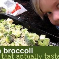 Frozen Broccoli Made Tasty