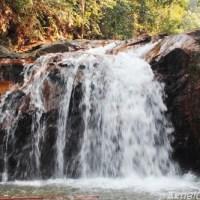 Bermandi manda di air terjun Serendah Hulu Selangor