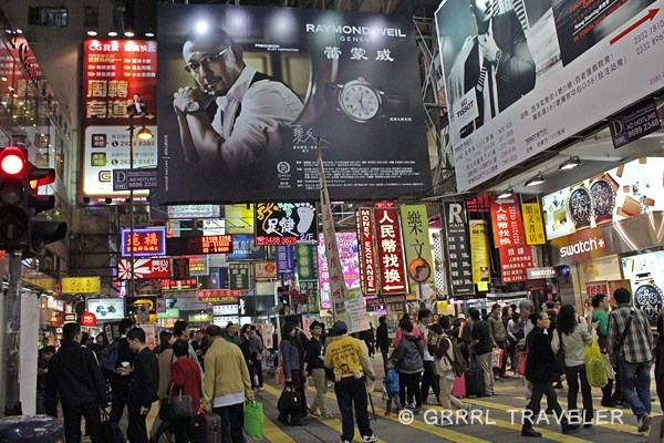 hong kong city crowds, hong kong city at night, population in china, hong kong city images