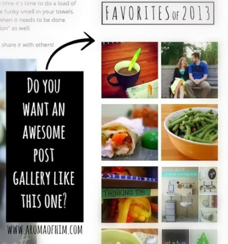How To Make A Post Gallery For Your Sidebar by Cropped Stories