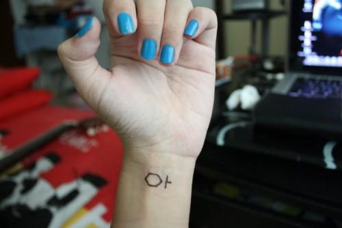 wrist tattoo ideas for girls