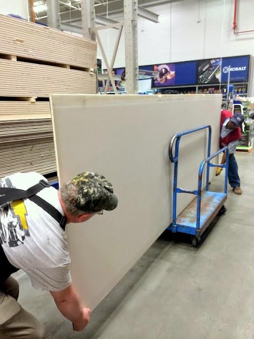 buying drywall
