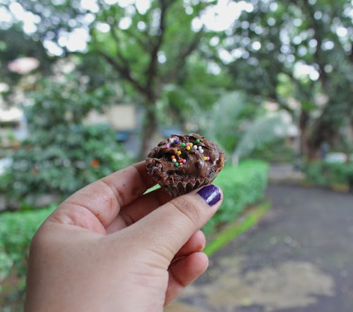 Nutella Brownie Bites Recipe | Eggless Mini Nutella Brownies