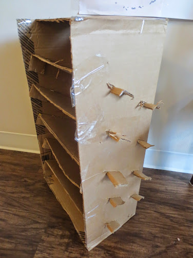 Cardboard Paper Organizer