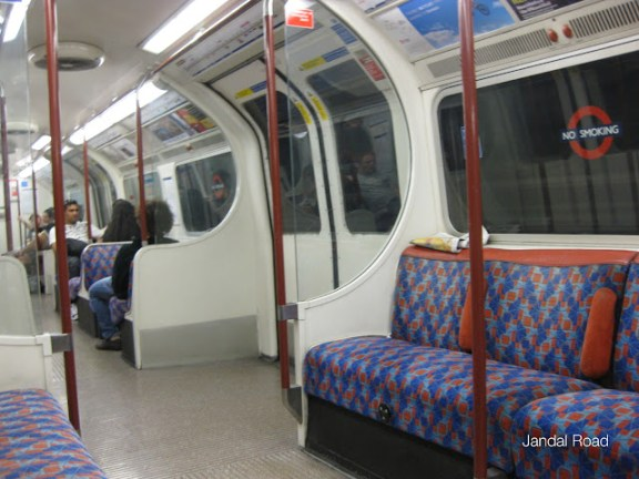 London Tube, Bakerloo line train