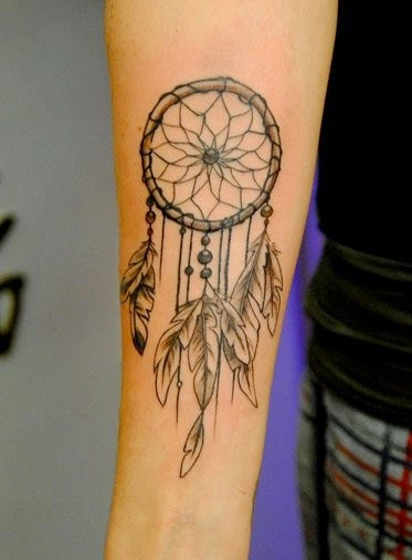 arm Dreamcatcher Tattoos