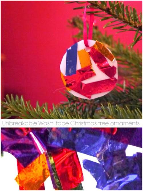 Vánoční ozdoby vyrobené dětmi