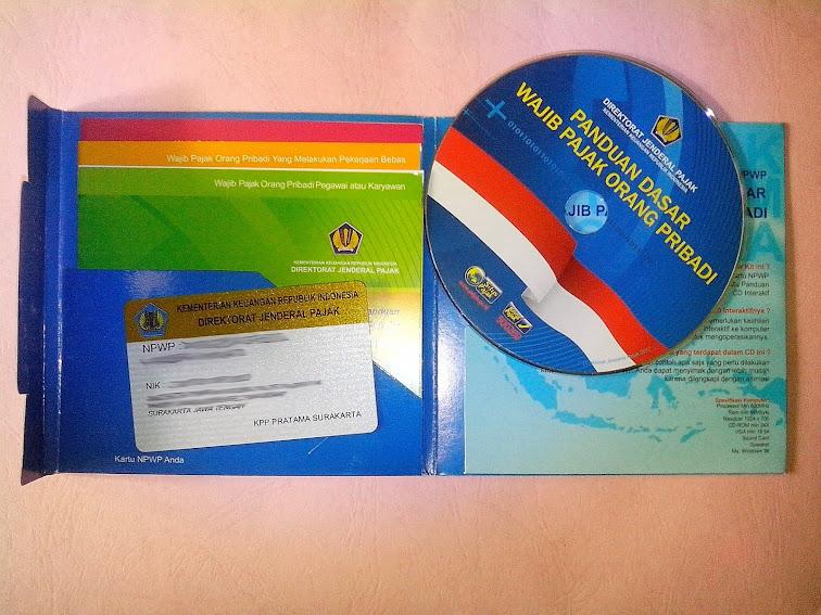 Isi CD Starter Kit NPWP