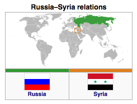 Russia - Syria Relations