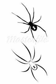 black spider tattoo designs