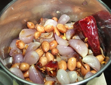 Onion Peanut Chutney