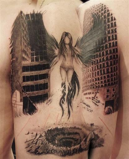 amazing angel tattoos