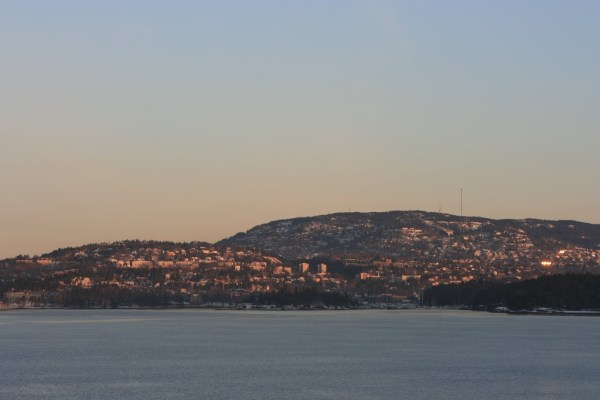 Erster Blick auf Oslo