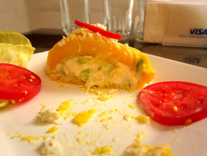 Causa relleno from Lima, Peru