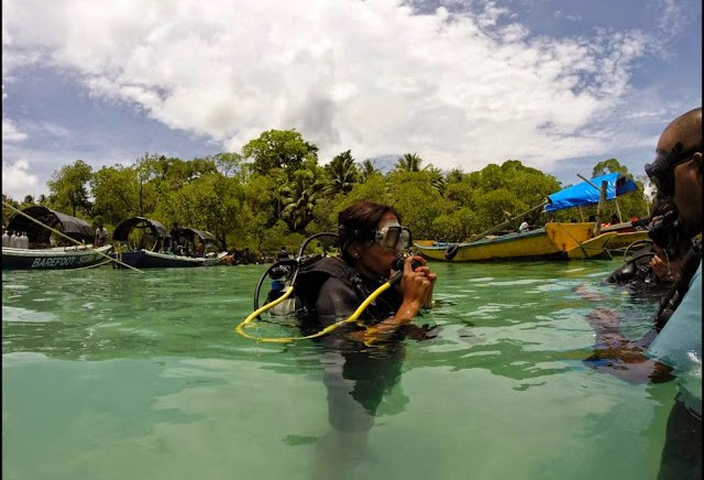 scuba diving havelock andaman