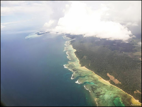 port blair from flight