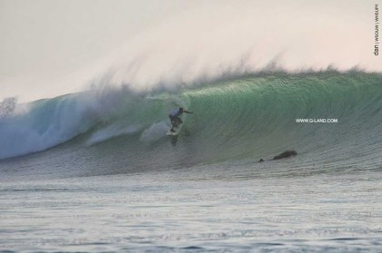 G-Land Surf Report on October 24, 2015