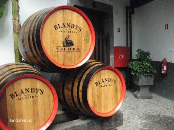 Blandys Wine Lodge, Funchal, Madeira