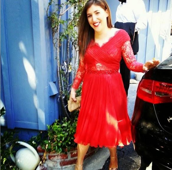 atriz Mayim Bialik Amy Farah Fowler The Big Bang Theory beleza