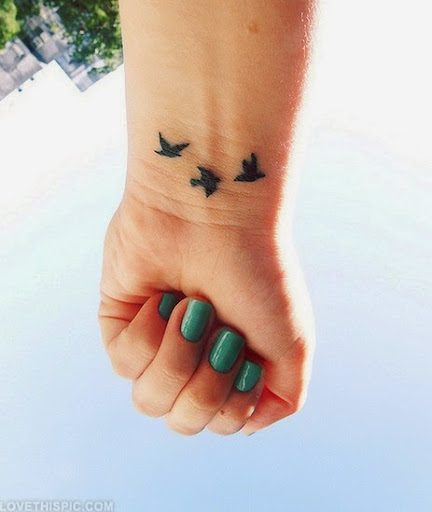 small and cute wrist tattoos