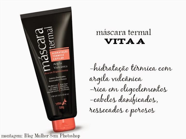 Vita A máscara termal para cabelos - melhores produtos de beleza