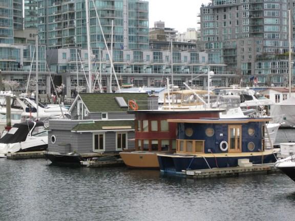 Quaint little boats in Coal Harbour