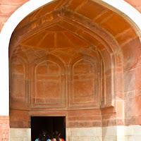 Humayun's Tomb in Delhi - Canon T2i