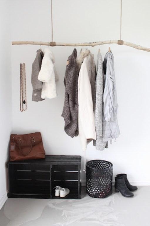 Hanging Branch Coat Rack