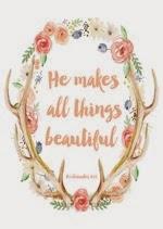 AKA Design - He Makes All Things Beautiful Free Spring Printable