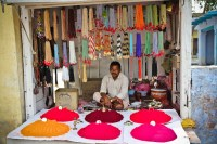 Holi supplies - try to get as many colors as possible