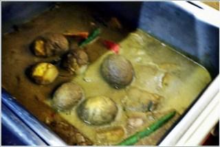 Buffet ramadhan terbaik - telur masak kurma