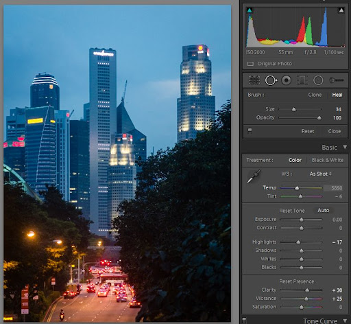 spot removal - now with more brush - in Lightroom 5 beta