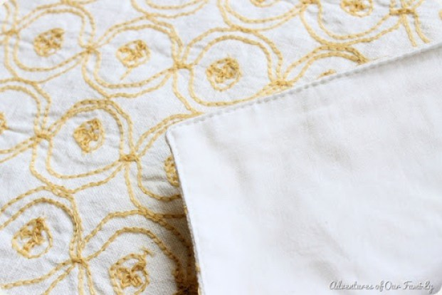 no sew pillow case target fabric placemat