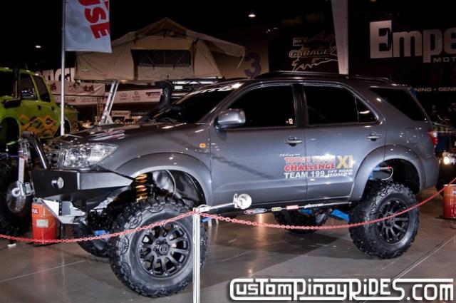 Manila Auto Salon Custom Pinoy Rides Toyota Fortuner